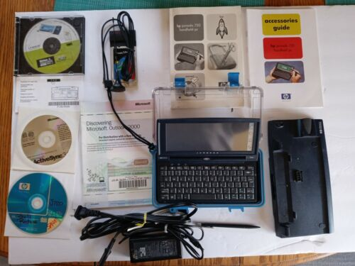 HP Jornada 720 Microsoft Windows for Handheld PC w/ Accessories