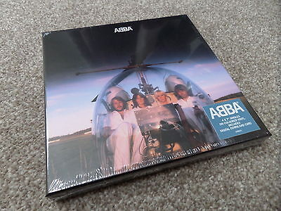 "ABBA - ARRIVAL -..... 4 x COLOURED 7"" BOX SET..(NUMBERED - DELETED...SEALED)"