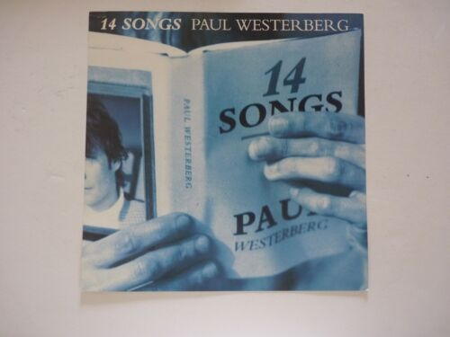 Paul Westerberg 14 Songs 1993 LP Record Photo Flat 12X12 Poster