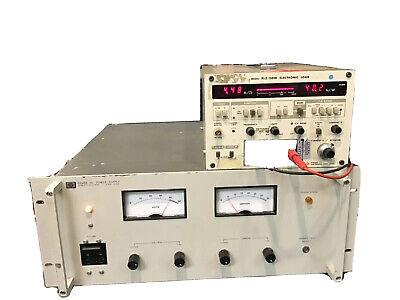 Hp Agilent 6268b Dc Power Supply 0-40v 30a Load Tested 220v Input