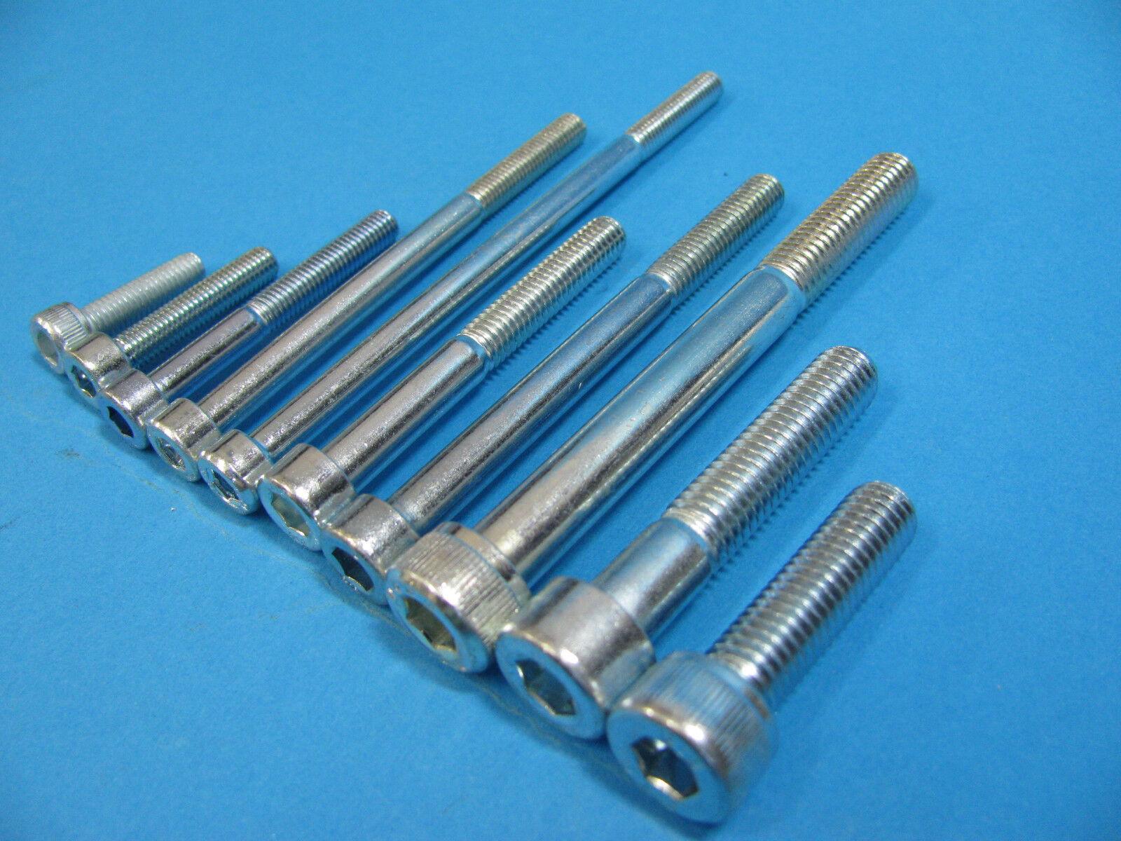 10//50//100 Stück M3 x 6mm Zylinderkopfschrauben