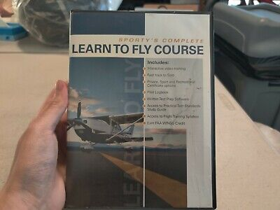 Sporty's Complete Learn To Fly Course - DVD Set