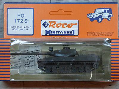 Roco Minitanks / Herpa (New) Modern German Leopard Standard Medium Tank Lot 502K