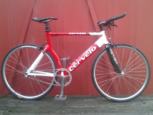 Cervelo P3 triathlon fixie singlespeed 650c wheels  52cm Maribyrnong Maribyrnong Area Preview