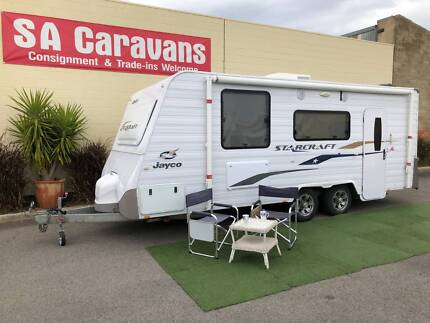 2015 JAYCO STARCRAFT 19' with REAR ENSUITE and ISLAND BED Klemzig Port Adelaide Area Preview
