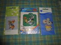 3 Etichette Termoadesive In Stoffa Peter Coniglio, Titty E Silvestro E Un Topino -  - ebay.it