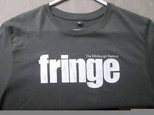 FRINGE Tshirt - bought at Edinburgh. Scotland. Leeming Melville Area Preview