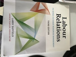 Labour relations - third edition