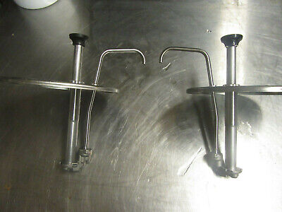 A75 Server Condiment Pump Cp 8 12 83220 Lot Of 2 Stainless Steel Free Shipping