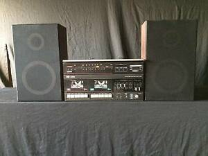 VINTAGE PYE AUDIO 3 IN ONE HI STEREO WITH RECORD PLAYER Fawkner Moreland Area Preview