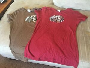 Two bass pro t-shirts