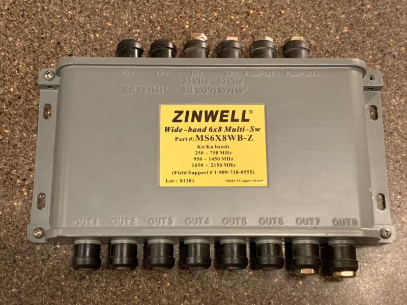 Details about  New Zinwell Wide-Band 6x8 Multi-Switch For Ka/Ku Dish Antenna MS