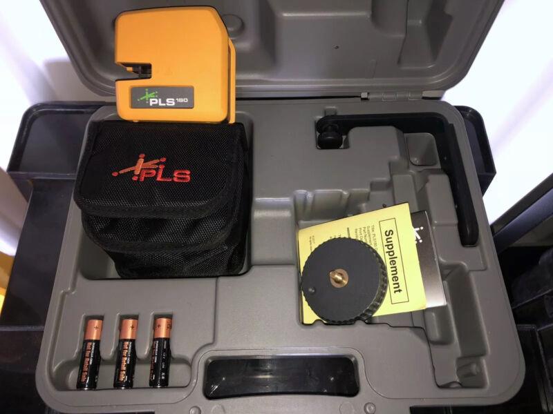 PLS-60596N PLS180 Green Laser Tool - NewOld Stock