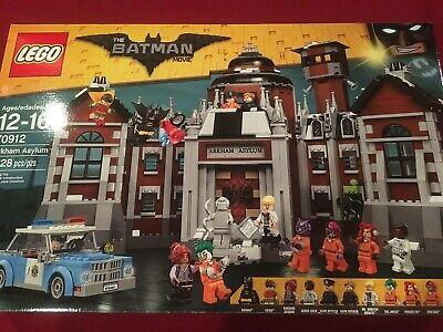 The LEGO Batman Movie Arkham Asylum 70912 New Sealed Retired