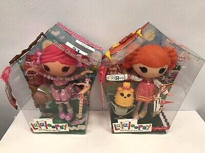 Lalaloopsy Toffee Cocoa Cuddles And Toys R Us Exclusive Peppy Pom Poms Full Size