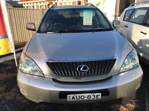 2005 Lexus RX330 SUV Long Jetty Wyong Area Preview