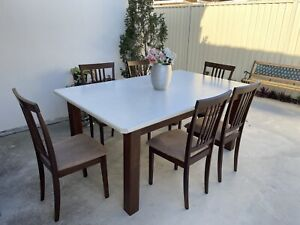 Dining Table Plus Six Chairs