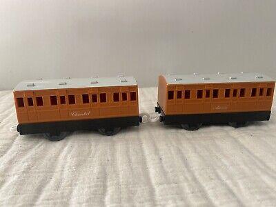 Thomas and Friends Annie & Clarabel Train Car Trackmaster Train TOMY