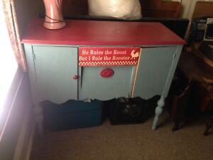Antique Hutch / Side Board