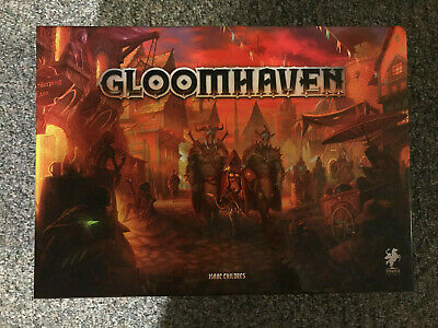 Gloomhaven Board Game Kickstarter 2nd Edition