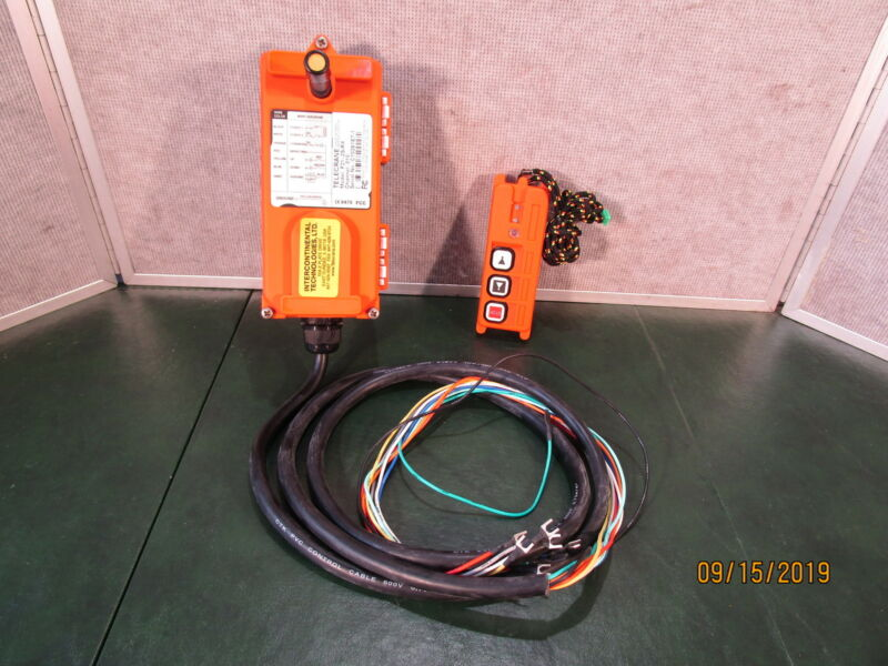 Telecrane Industrial Remote Controller Model F21-2S CHANNEL 18