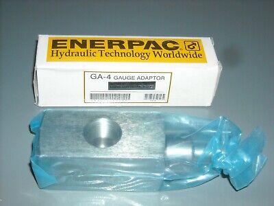 Ga-4 Enerpac Oem Gauge Adaptor New