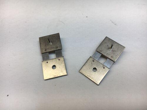 """Clock Pendulum Suspension spring set of 2 size 1/2"""" x 1"""""""