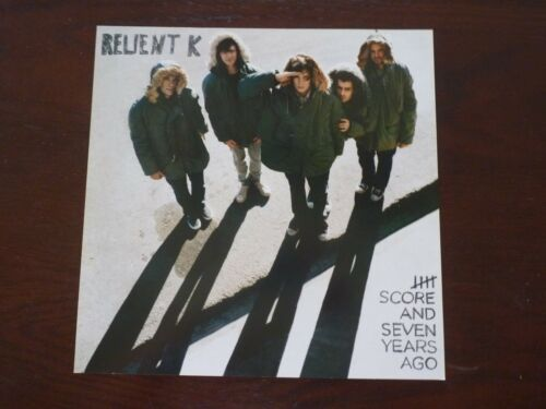 Reliant K 4 Score and Seven Years Ago LP Record Photo Flat 12x12 Poster