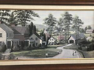 Lovely Painting in Wood Frame
