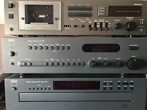 NAD Stereo Receiver and CD Player