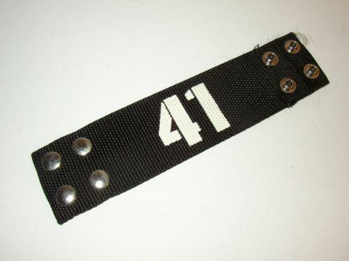 NEW SUM 41 Wrist-Bands 2 Size Settings Black Nylon