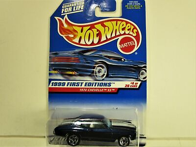 HOT WHEELS 1970 CHEVROLET CHEVELLE SUPER SPORT SS FIRST EDITIONS NEW IN PACKAGE