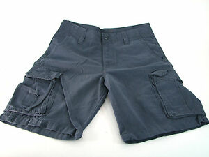 Old Navy Men's Broken In Cargo Shorts Dusty Blue Size 32