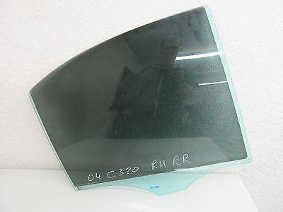 04-07 MERCEDES-BENZ W203 C230 C280 C320 RIGHT REAR DOOR WINDOW GLASS OEM