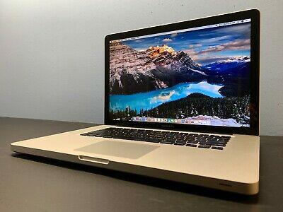 "15"" APPLE MACBOOK PRO / INTEL / 8GB / 1TB /  / 3 YEAR WARRANTY / Mac OSx-2015"