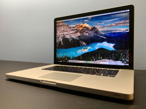 "15"" APPLE MACBOOK PRO / INTEL / 8GB / 1TB  / 3YR WARRANTY / Mac OSx-2015"