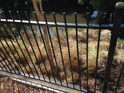 Pool Fence - Aluminium - powder dated black Carina Brisbane South East Preview