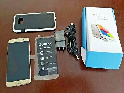 UNLOCKED Samsung Galaxy S7 Edge SM-G935A 32GB Black Gold Titanium