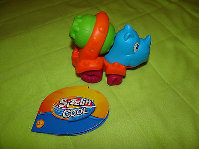 Toys R Us Sizzlin'Cool Hippo car/ cement-mixer water toy, sandpit car/sand mixer (Hippo Mixer)