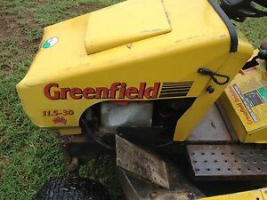 Greenfield ride on mower and catcher Milbong Ipswich South Preview