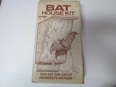 Unopened Sealed Woodcrafter Kits BAT HOUSE KIT Model