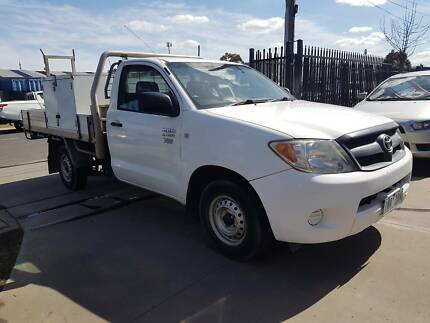 2007 Toyota Hilux Ute WORKMATE Williamstown North Hobsons Bay Area Preview