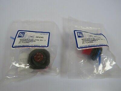 2 New Amphenol Jd3899924wd5pn Circular Mil Spec Connectors