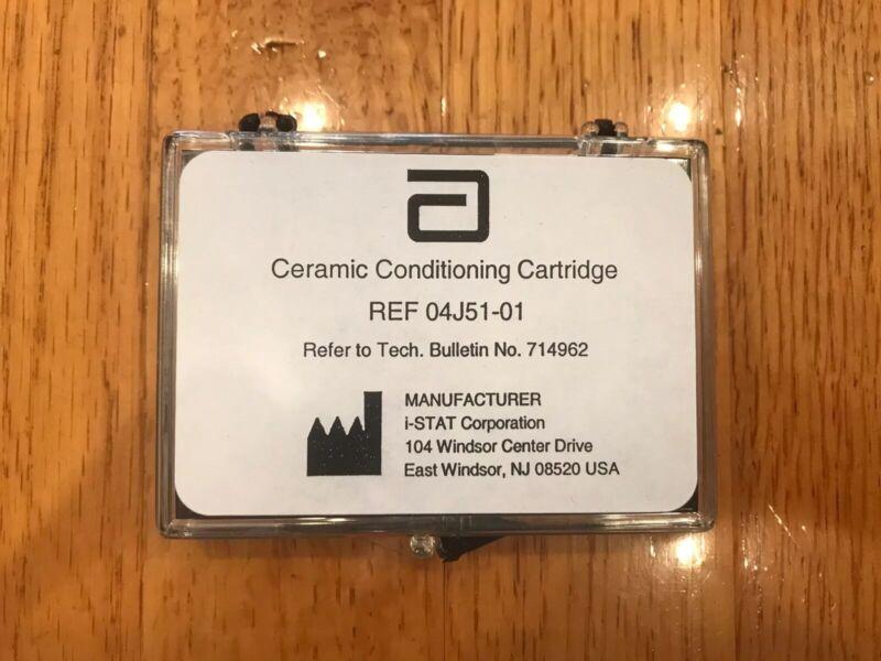 Abbott i-STAT 1 200 Ceramic Conditioning Cartridge