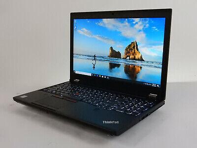 "Lenovo ThinkPad P50 15.6"" 2.70GHz i7 6820HQ 32GB 256GB SSD 500GB HDD WIN10PRO"