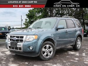 2011 Ford Escape Limited 4X4 Leather & Sunroof