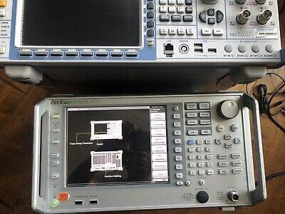 Anritsu Ms2691a 50hz - 13.5ghz Vector Signal Analyzer 1db Lower Need Cal