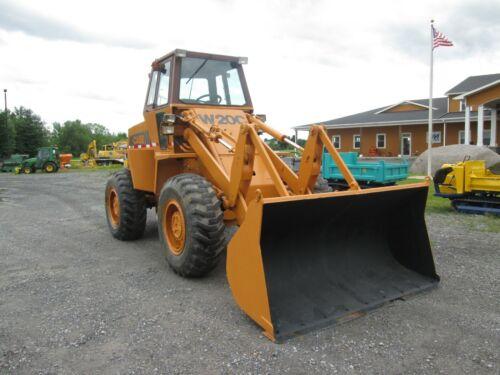 Case W20C Used Wheel Loader 4x4 Cab Diesel