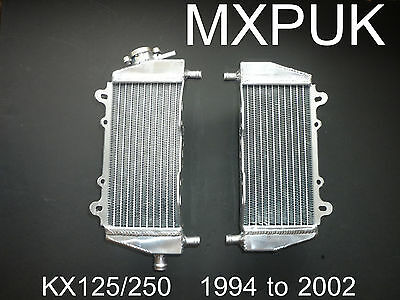 KX250 2002 RADIATORS  Performance Radiators KX 250  Radiator rads rad (043)