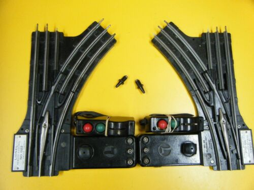 Lionel #022 Remote Set of O Ga. Switches , Serviced Exc.